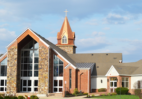 Our Savior's Way Lutheran Church Ashburn Virginia exterior